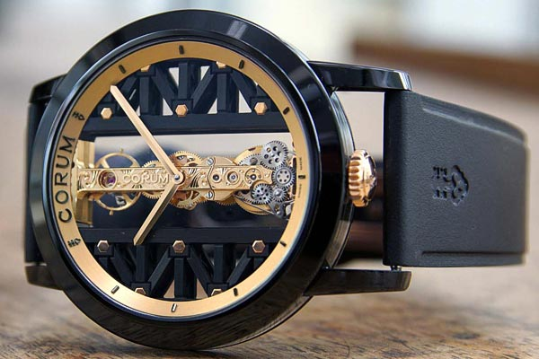 Corum Golden Bridge Titane DLC