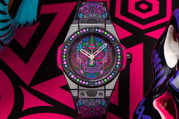 Hublot Big Bang One Click Calavera Catrina Siar Mexico
