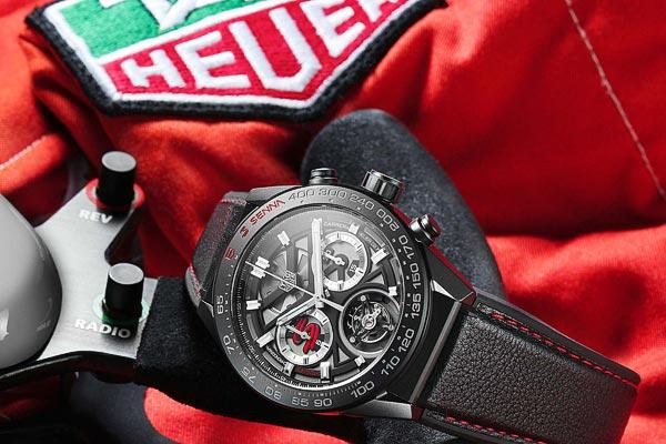 TAG Heuer Chronographe Tourbillon Edition Spéciale Ayrton Senna