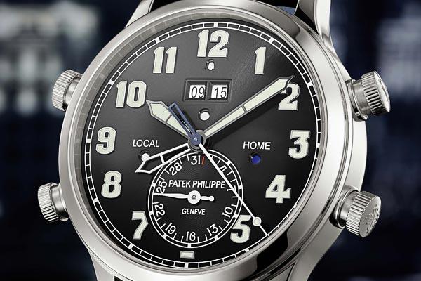 Patek Philippe Alarm Travel Time référence 5520P-001