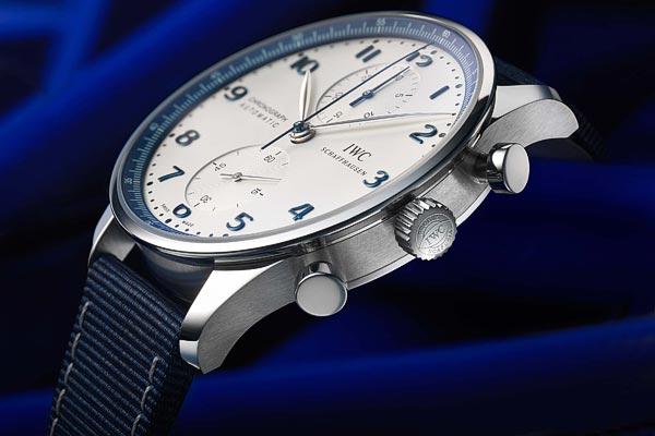 En exclusivité pour Bucherer Blue : la Portugieser Chronograph d'IWC