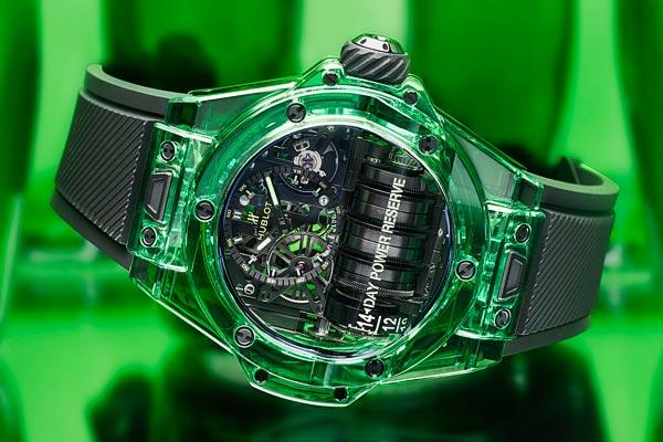 L'exploit aux couleurs du SAXEM vert pour la Hublot Big Bang MP-11