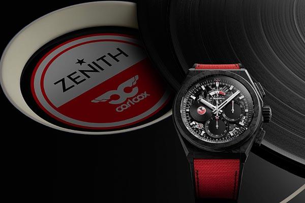 Zenith Defy21 CarlCox Edition