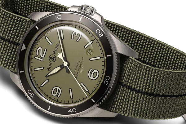 Bell&Ross revisite le style militaire
