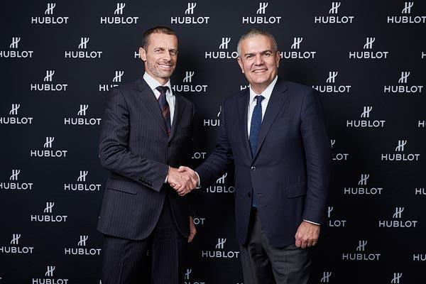 Temps additionnel! Hublot devient partenaireofficiel del'UEFAWomen's EURO2021™