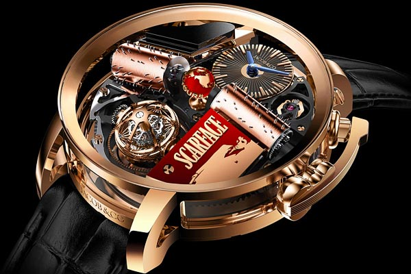 Opera by Jacob & Co Scarface Musical Watch