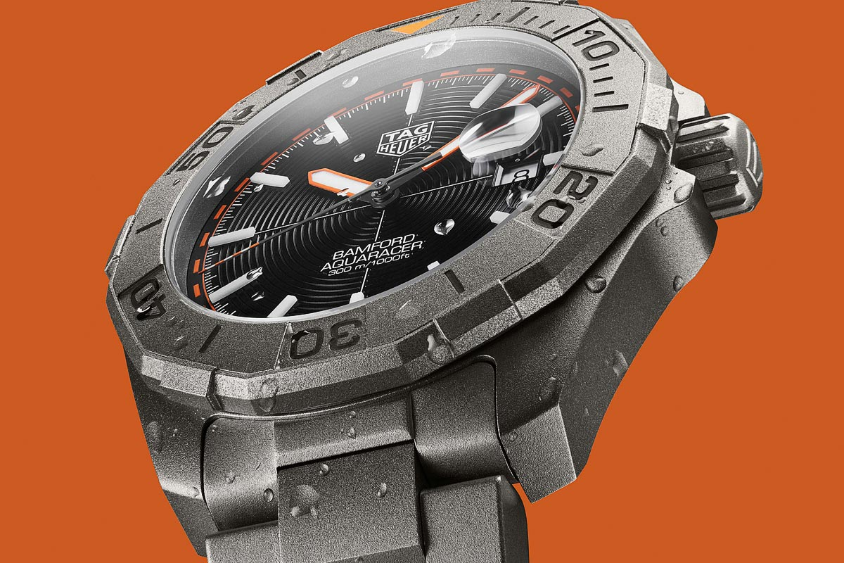 TAG Heuer x Bamford Watch Department