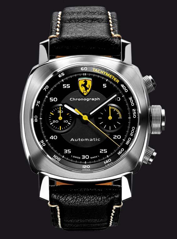 La Cote Des Montres Panerai Celebrates 60 Years Of Ferrari At Mugello With 3 Watches Ferrari Scuderia Chronographe 40 Mm Ferrari Granturismo Chronographe 40 Mm And Ferrari Granturismo Gmt Alarm