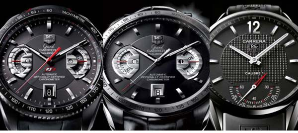 05d1ccc5c59 The Watch Quote  TAG Heuer Carrera Calibre 1 Vintage and Grand Carrera  Calibre 17 RS2 in Grade 2 Titanium