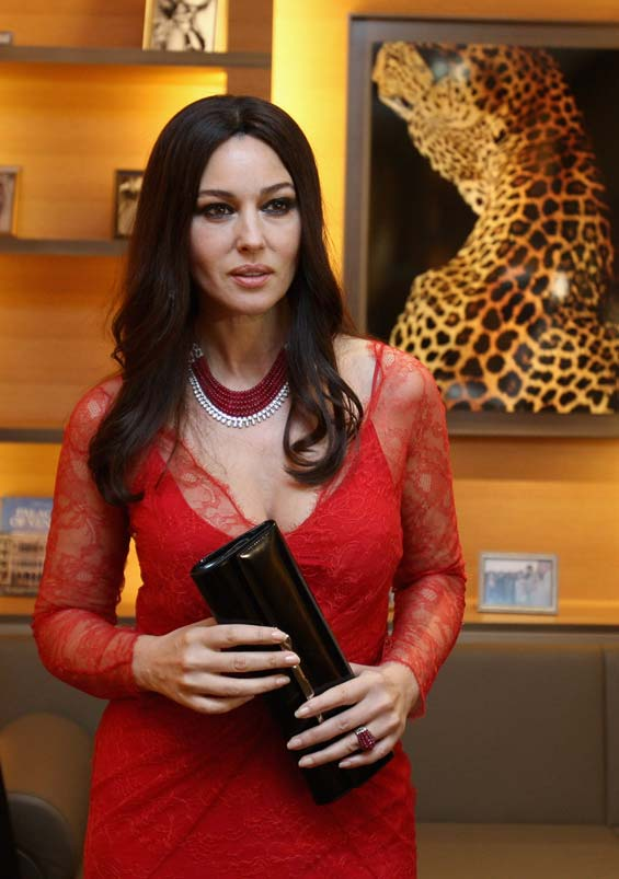 cartier singapore outlets ilqt  An event illuminated by Monica Bellucci