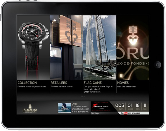 The Watch Quote: The World Of Corum At Your Fingertips To