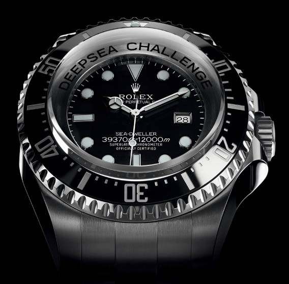 350dec43e9a The Watch Quote  The Rolex Deepsea Challenge 2012 watch - To the ...