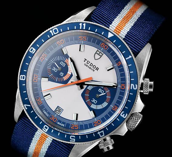 Tudor Classic Platinum: The Watch Quote: The Tudor Heritage Chrono Blue Watch