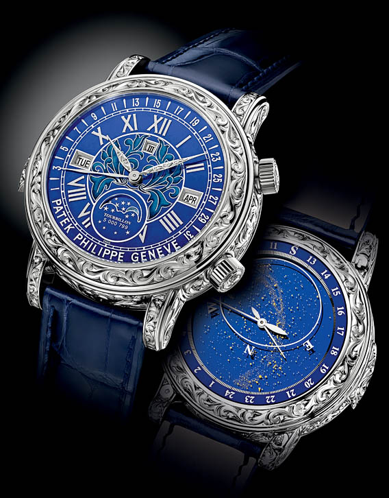 The watch quote the patek philippe sky moon tourbillon ref 6002 watch the grand creation of for Patek philippe tourbillon