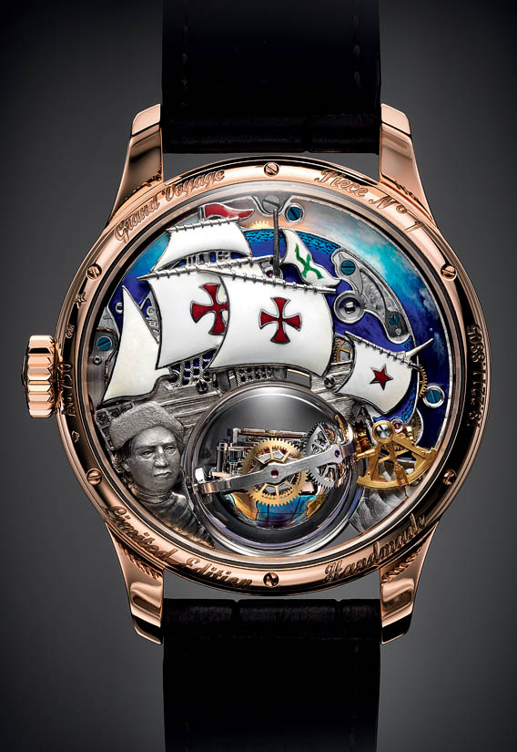 The Watch Quote: The Zenith Academy Christophe Colomb ...