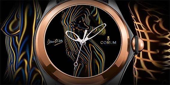Affordable Corum Bubble Dani Olivier Replica Watch Present