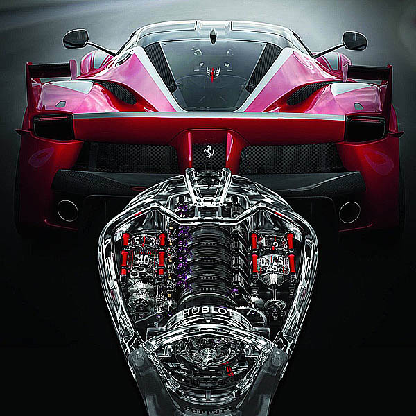 The Watch Quote: The Hublot MP 05 U201cLaFerrariu201d Sapphire Watch   A Sapphire  Setting For The Record Breaking Movement