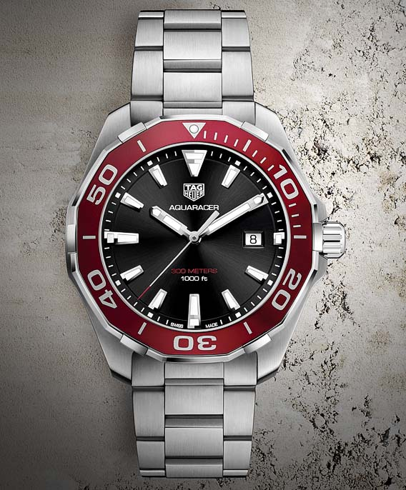 The Watch Quote: The TAG Heuer Aquaracer 300M 43mm watch ...