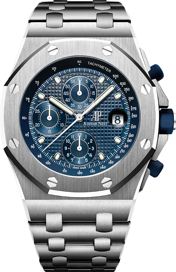 The watch quote audemars piguet celebrates the 25th anniversary of the royal oak offshore a for Royal oak offshore n7243